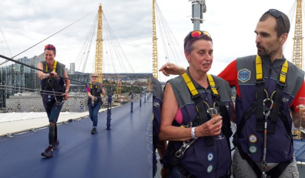 Jeanette Climbs The O2 Arena
